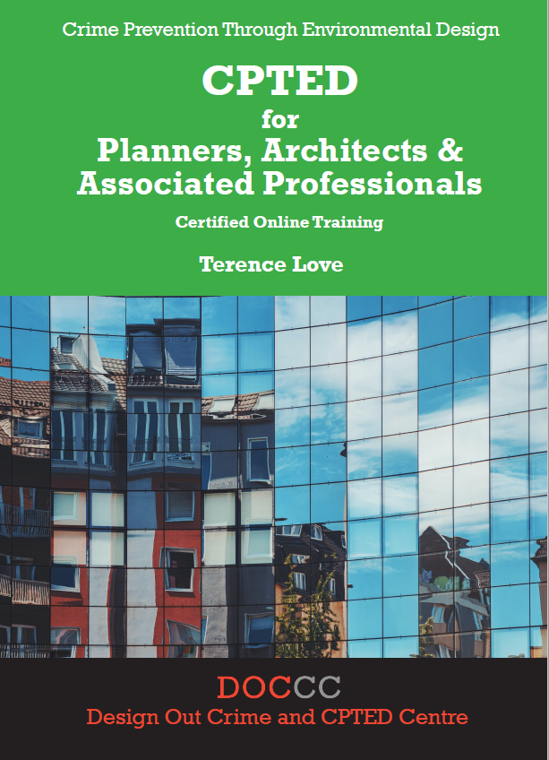 Cover of CPTED for Planners, Architects course